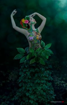Duong Quoc Dinh -Body painting and Photography - Catherine La Rose (5)